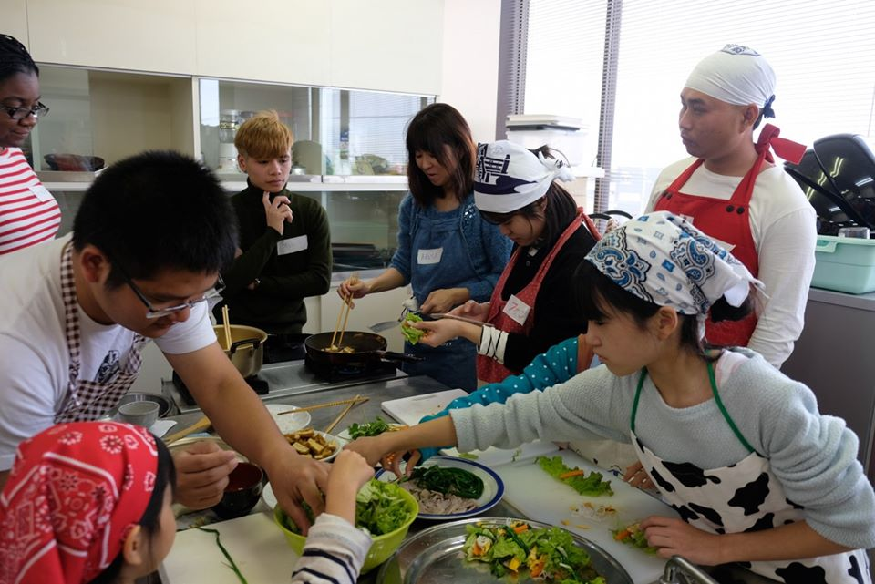 以前の料理教室 previous cooking class